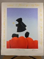 Walking on Love 2003 Limited Edition Print by Mackenzie Thorpe - 1