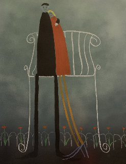 Lovers in the Park  Limited Edition Print - Mackenzie Thorpe