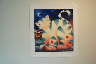 Love Cat 2004 Limited Edition Print by Mackenzie Thorpe - 1