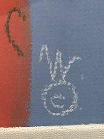 One Eye Love Pastel 2004 25x21 Works on Paper (not prints) by Mackenzie Thorpe - 5