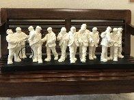Apostles Parian Sculpture 2013 31 in Sculpture by Mackenzie Thorpe - 1