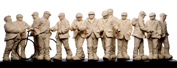 Apostles Parian Sculpture 2013 31 in Sculpture by Mackenzie Thorpe