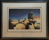 Happy is Life With the Sun on Your Back 1998 Limited Edition Print by Mackenzie Thorpe - 1