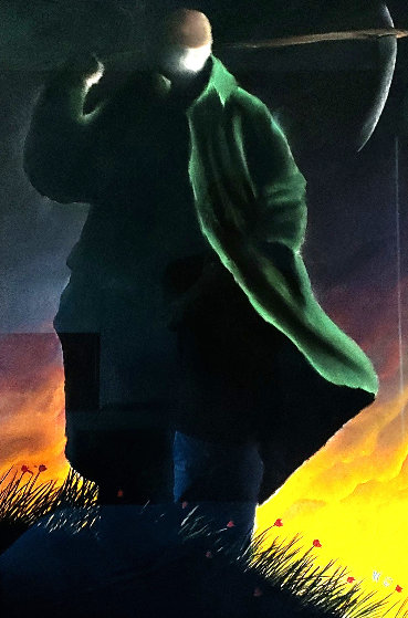 Reaper 1997 37x25 Other by Mackenzie Thorpe