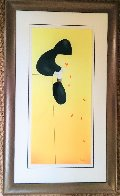 Petals in the Wind 2005 Super Huge Limited Edition Print by Mackenzie Thorpe - 2
