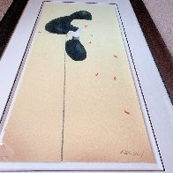 Petals in the Wind 2005  Huge Limited Edition Print by Mackenzie Thorpe - 3