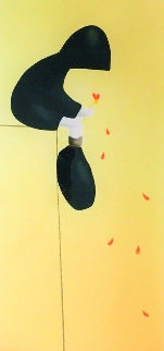 Petals in the Wind 2005  Huge Limited Edition Print - Mackenzie Thorpe