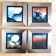 Icon Collection, Set of 4 Prints, With Portfolio Limited Edition Print by Mackenzie Thorpe - 4