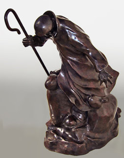 For the Ones You Love Bronze Sculpture 17 in Sculpture by Mackenzie Thorpe