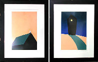 Hopes and Dreams Suite of 2 Limited Edition Print by Mackenzie Thorpe - 2