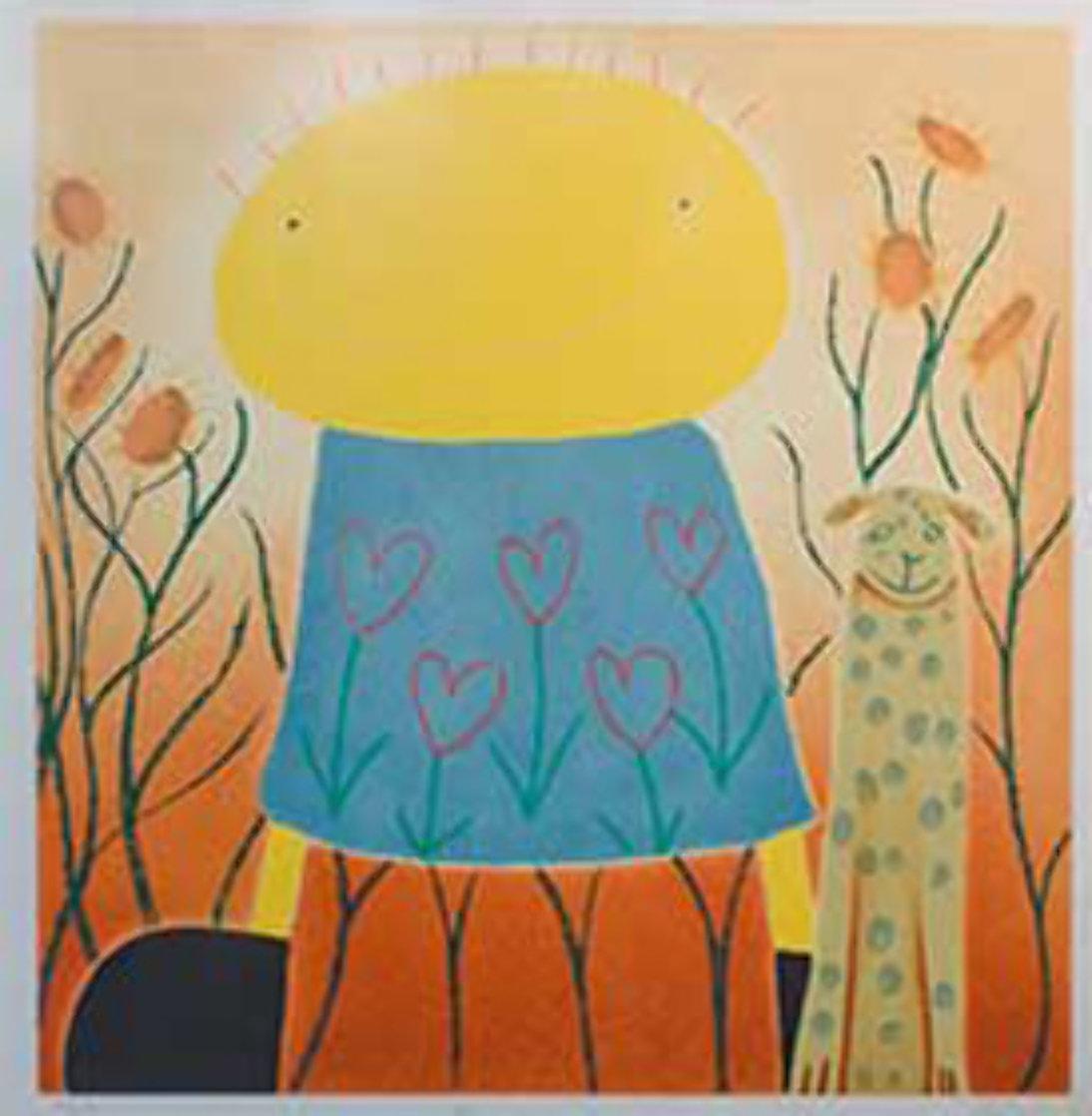 Secret Garden Limited Edition Print by Mackenzie Thorpe