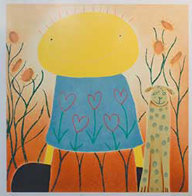 Secret Garden Limited Edition Print by Mackenzie Thorpe - 0