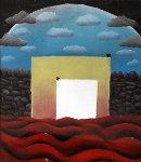 Sea of Love 1993 23x19 Original Painting - Mackenzie Thorpe