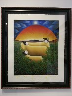 We Are Family 2002 Limited Edition Print by Mackenzie Thorpe - 1