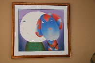 With Love 2004 Limited Edition Print by Mackenzie Thorpe - 1