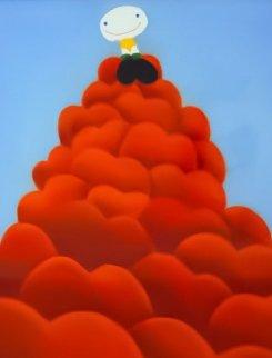 Pile of Love Pastel 2003 46x39 Huge Works on Paper (not prints) - Mackenzie Thorpe