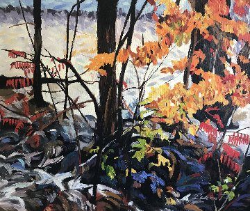 Fantasy V 2015 20x24 Original Painting - Redina Tili