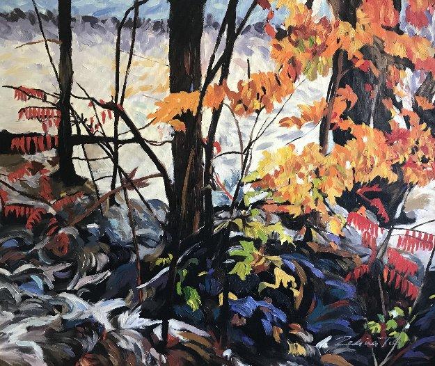 Fantasy V 2015 20x24 Original Painting by Redina Tili