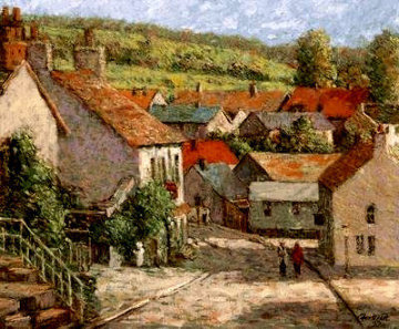 Quiet Village PP Limited Edition Print by Christian Title