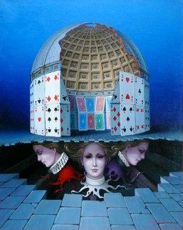 Sisters   Original Painting - Tito Salomoni