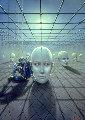 Caged Dreams Original Painting - Tito Salomoni