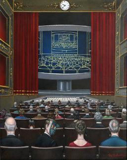 New Show 20x16 Original Painting by Tito Salomoni