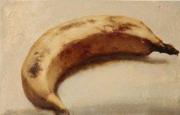 Banana 2013 11x15 Original Painting - Kim Tkatch