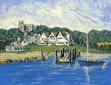 Hyannisport Compound  1987 Limited Edition Print - Sen. Ted  Kennedy