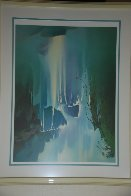 Misty Falls  1991 Limited Edition Print by Thomas Leung - 2