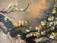 Yellow Plum Blossom 2018 20x30 Original Painting by Thomas Leung - 1