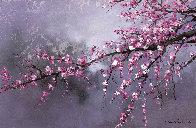 Winter Plum Blossom II 2018 20x30 Original Painting by Thomas Leung - 0