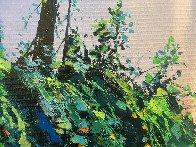 Summer Time Falls 2017 47x71 Huge Original Painting by Thomas Leung - 4