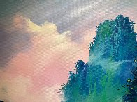 Magical Mountain 2018 39x55 Super Huge Original Painting by Thomas Leung - 3