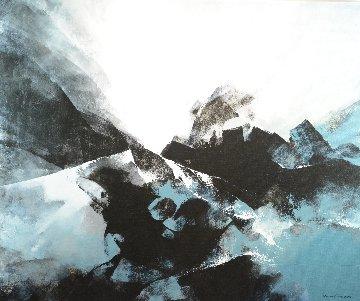 Universe 2014 59x71 Original Painting - Thomas Leung