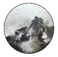 Mountain Rhapsody 2019 41x41 Huge Original Painting by Thomas Leung - 1