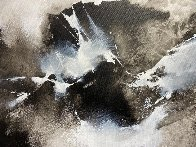 Mountain Rhapsody 2019 41x41 Huge Original Painting by Thomas Leung - 3