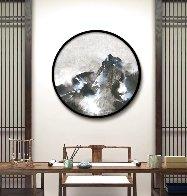 Mountain Rhapsody 2019 41x41 Huge Original Painting by Thomas Leung - 0