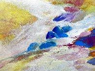 Steam #6 2015 20x28 Original Painting by Thomas Leung - 1