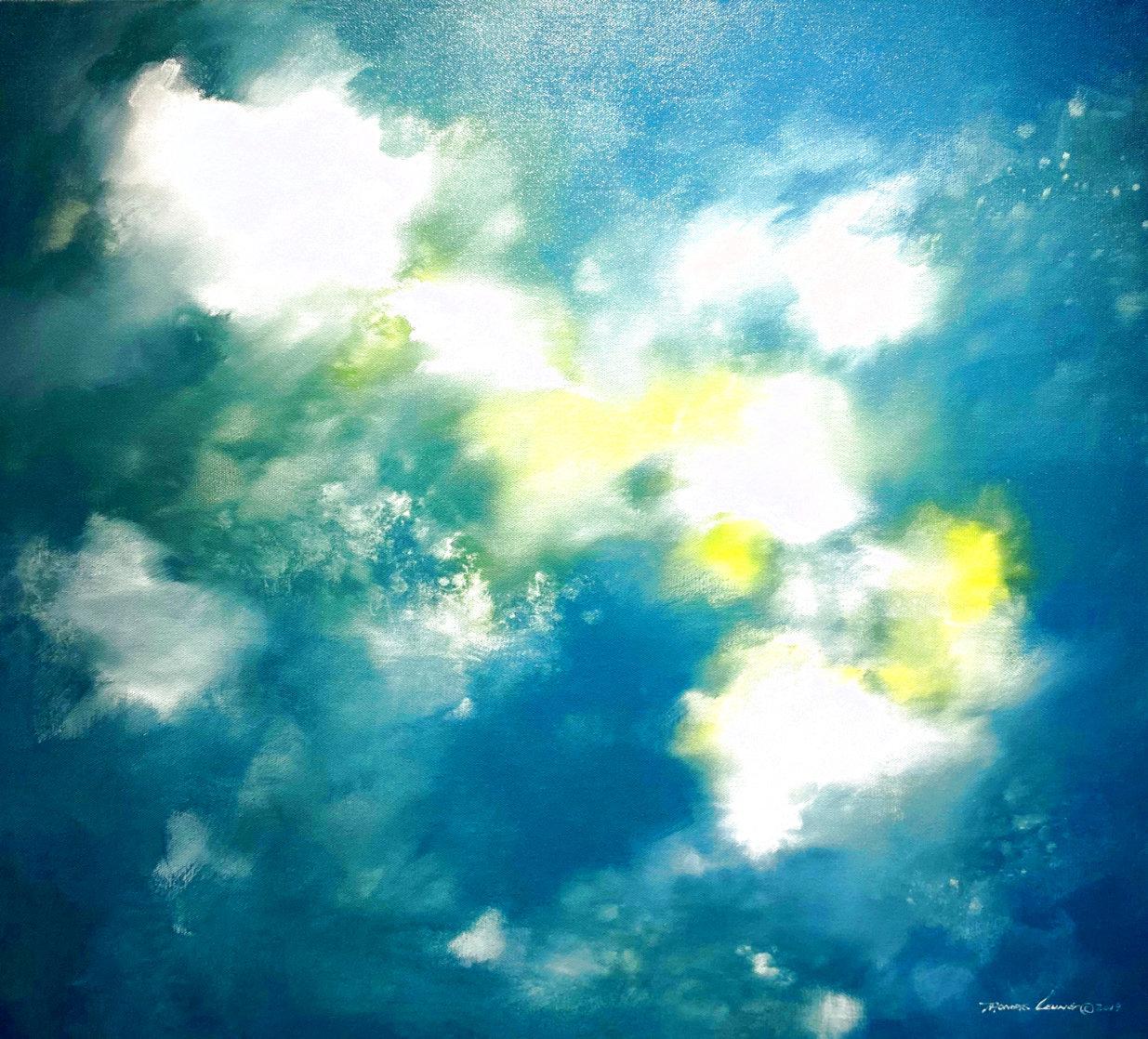 Dream 2019 35x39 Original Painting by Thomas Leung
