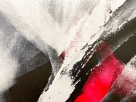 Red Motion 2018 39x31 Original Painting by Thomas Leung - 3