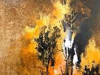 Grisaille Forest 2019 35x28 Original Painting by Thomas Leung - 1