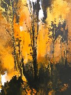 Grisaille Forest 2019 35x28 Original Painting by Thomas Leung - 3