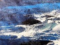 Blue 2015 24x36 Original Painting by Thomas Leung - 3