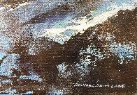 Blue 2015 24x36 Original Painting by Thomas Leung - 4