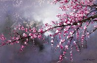Winter Blossom II 2018 20x30 Original Painting by Thomas Leung - 0