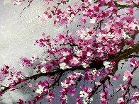 Winter Blossom II 2018 20x30 Original Painting by Thomas Leung - 2