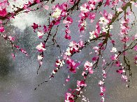 Winter Blossom II 2018 20x30 Original Painting by Thomas Leung - 4