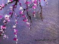 Winter Blossom II 2018 20x30 Original Painting by Thomas Leung - 5