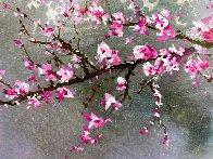 Winter Blossom II 2018 20x30 Original Painting by Thomas Leung - 3