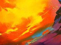 Lava 2017 23x31 Original Painting by Thomas Leung - 3